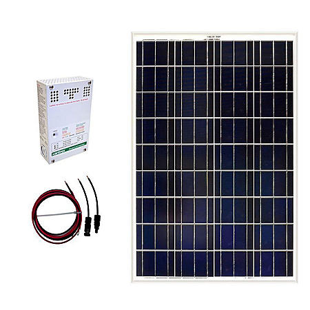 Grape Solar 100-Watt Off-Grid Solar Panel Kit