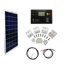 Grape Solar 100-Watt Basic Off-Grid Polycrystalline Silicon Panel Kit
