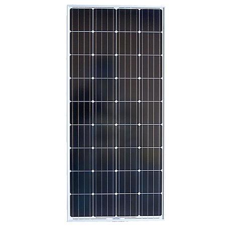 Grape Solar 180-Watt Monocrystalline PV Solar Panel for Cabins, RVs and Back-Up Power Systems