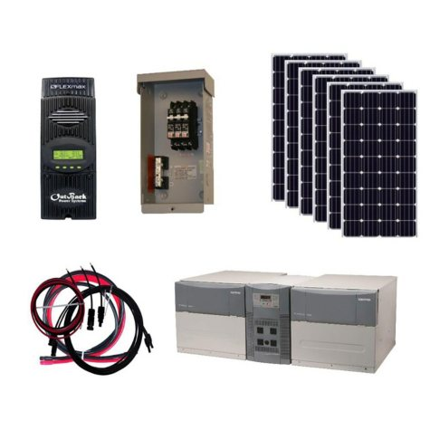Grape Solar 1,080-Watt Off-Grid Solar Generator Kit