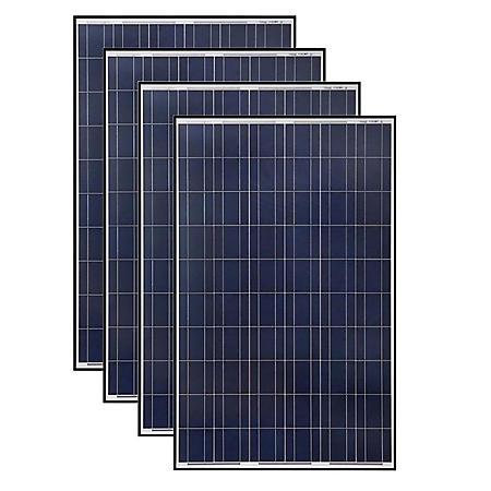 Grape Solar 265-Watt Polycrystalline Solar Panel (4 pk.)