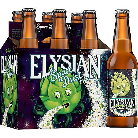 Elysian Space Dust IPA (12 fl. oz. bottle, 6 pk.)