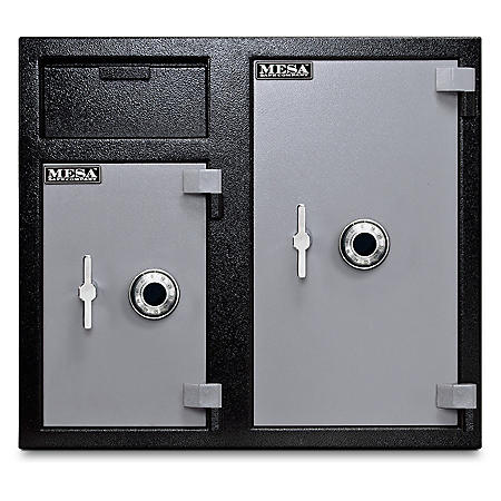 Mesa Depository Safe, All Steel, 6.7 Cubic Feet