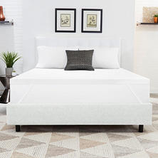 "ComforZen 2"" Gel Memory Foam Mattress Topper - Various Sizes"