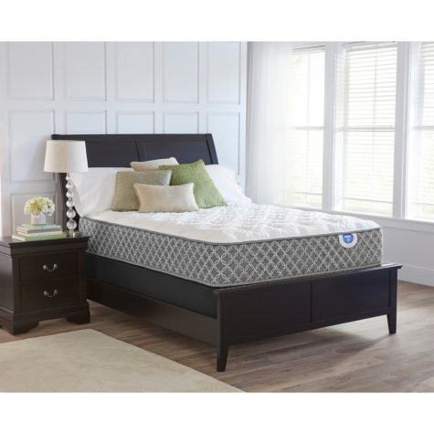 "Spring Air Braidey 13"" Plush King Mattress Set"