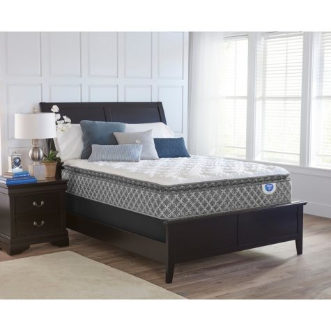 "Spring Air Braidey 13"" Pillowtop King Mattress Set"
