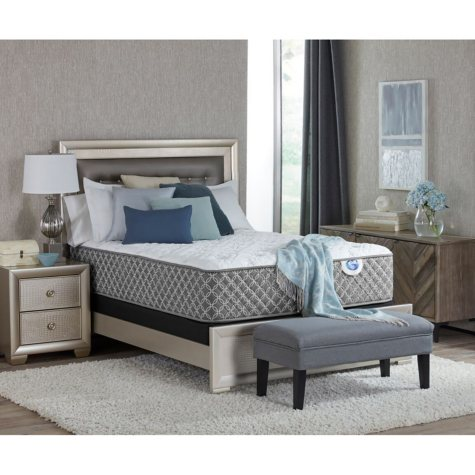 "Spring Air Cassie Exquisite Plush 15.5"" Queen Mattress Set"