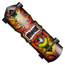 "Body Glove Tiki Man 30"" Longboard Skateboard"