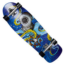 "Body Glove Offshore Octo 32"" High Performance Longboard Cruiser Skateboard"