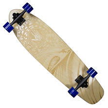 "Body Glove Laser-Etched Laser Wave High Performance 34"" Longboard Skateboard"