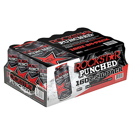 Rockstar Energy Punched (16oz / 24pk)