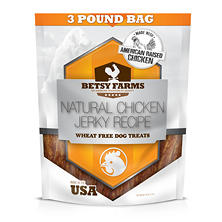 Betsy Farms Chicken Jerky Dog Treats (48 oz.)