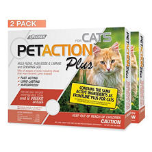 PetAction Plus for Cats (6 doses)