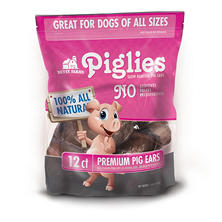 Betsy Farms Piglies Pig Ears (12 ct.)