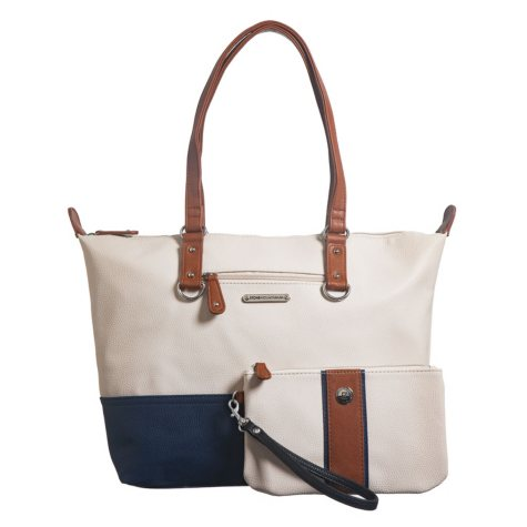 "Stone Mountain ""Plugged In"" Pebble Leather Tote and Wristlet"