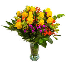 Hunny Bunny Flower Bouquet (with vase)