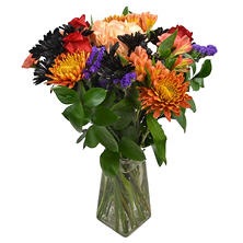 Into the Twilight Halloween Bouquet (includes vase)