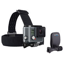GoPro Headstrap and Quickclip