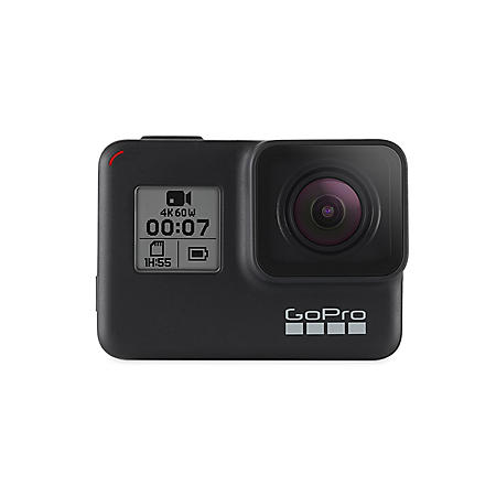 GoPro HERO7 Black Waterproof Action Camera