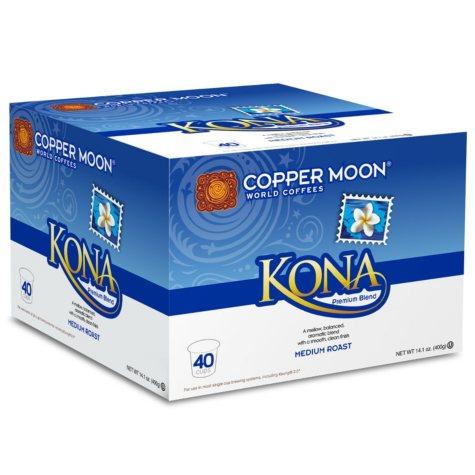 Copper Moon Kona Coffee, Single Serve (80 ct.)