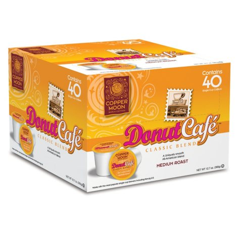 Copper Moon Donut Cafe Coffee, Single Serve (80 ct.)