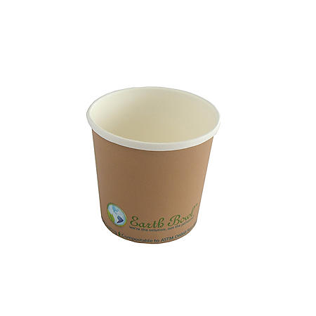 Earth Bowl Soup Cup- 500 count (Various Sizes)