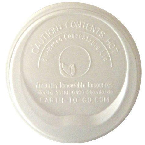 Earth Cup Insulated Hot Cup Lids- 1000 count (Various Sizes)