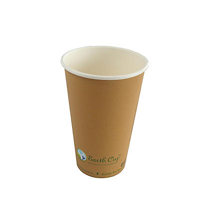 Earth Cup Single-Wall Hot Cup- 1000 count (various sizes)