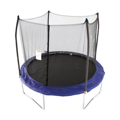 Skywalker Trampolines 10' Round Trampoline and Enclosure - Blue