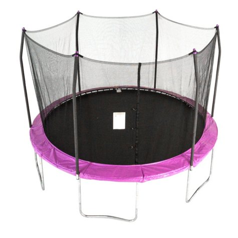 Skywalker Trampolines 12' Round Trampoline and Enclosure - Purple