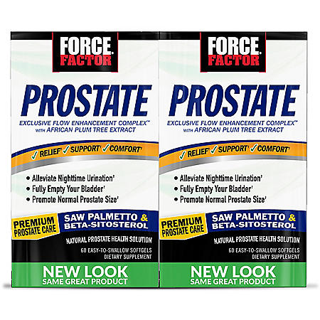 Force Factor Prostate Support Supplement (60 ct., 2 pk.)