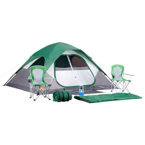 Denali 7-Piece Camping Set with 11' x 9' Tent