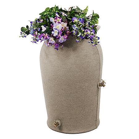 Impressions Amphora 50-Gallon Rain Saver - Sandstone
