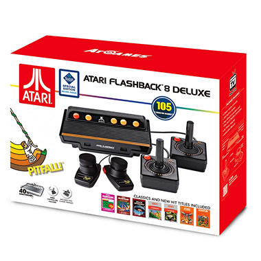 Atari flashback 8 deluxe with 105 games 2 wired - Atari flashback classic game console game list ...