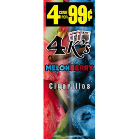 4K's Mint Chocolate Chip Cigars, Prepriced 4 for $0.99 (60 ct.)