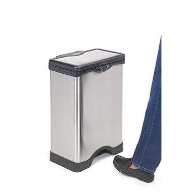 Simply Kleen 10.3 Gallon Foot Activated Sensor Waste Bin