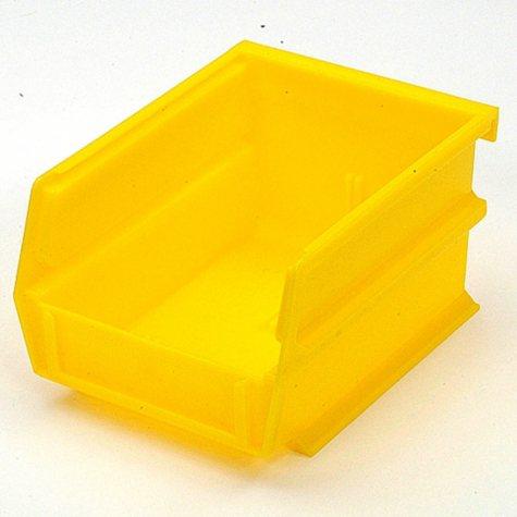 """10 Piece Yellow Bins - 5-3/8"""" L x 1/8"""" W x 3"""" H"""