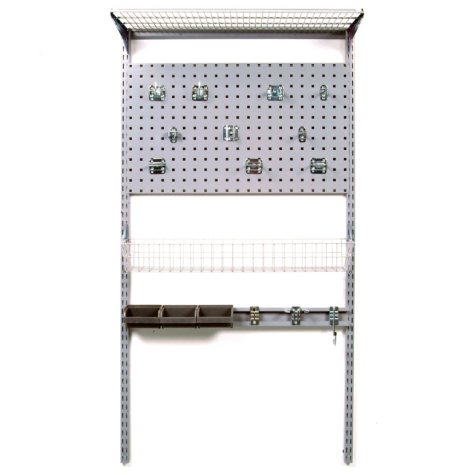 "33"" x 63"" Wall-Mount Storage System with LocBoard"