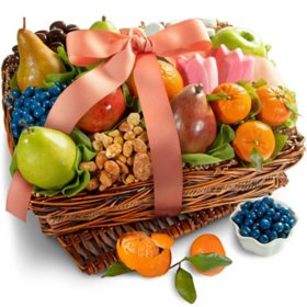 Springtime Fruit and Gourmet Basket