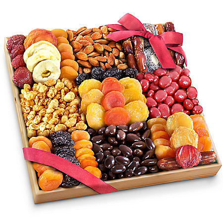 Extravagance Dried Fruit, Nuts and Treats Gift Tray