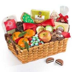 Gift baskets towers sams club fresh fruit and snacks gourmet gift basket negle Choice Image