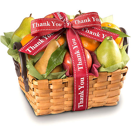 Thank You Orchard Favorites Fruit Gift Basket