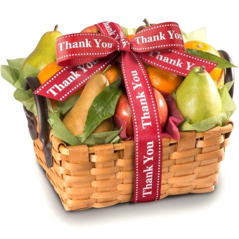 Thank You Orchard Favorites Fruit Gift Basket
