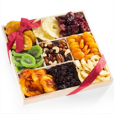 Dried Fruit Gift Crate