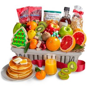 Christmas Wishes Family Brunch Gift Basket