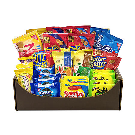 Cookies And Crackers Variety Snack Box (40 ct.)