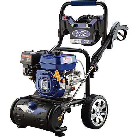 Ford 2700 PSI Pressure Washer with On-Board Soap Tank