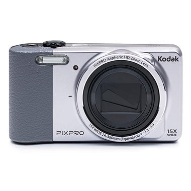 Kodak PIXPRO Friendly Zoom FZ151 16MP Digital Camera with 15x Optical Zoom - Various Colors