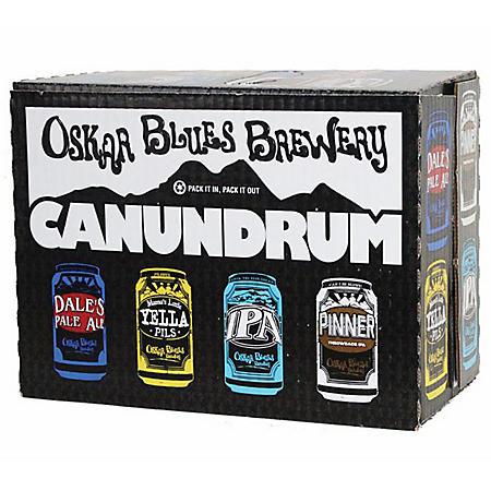 Oskar Blues IPA Canundrum (12 fl. oz. can, 24 pk.)