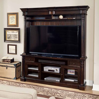 Pepperdine TV Stand and Hutch Sams Club